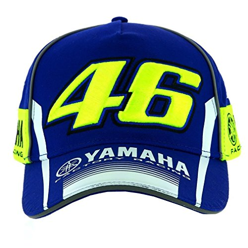 Gorra Vale 46 Moto GP M1 Racing Team (Azul)