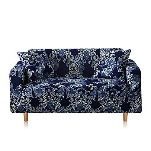 MKQB Estirar la Funda de sofá elástica, Sala de Estar en Forma de L sección de sillón elástica Funda de sofá elástica Antideslizante Envuelto herméticamente NO.5 S (90-140cm
