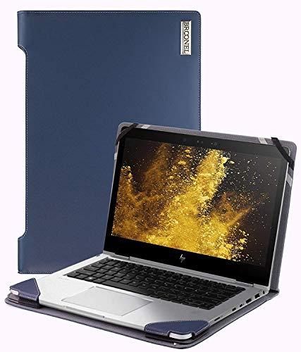 Broonel - Serie de perfiles - Estuche para De Cuero Azul - Compatible con La ASUS ZenBook Pro 15 UX580GD 15.6 Inch