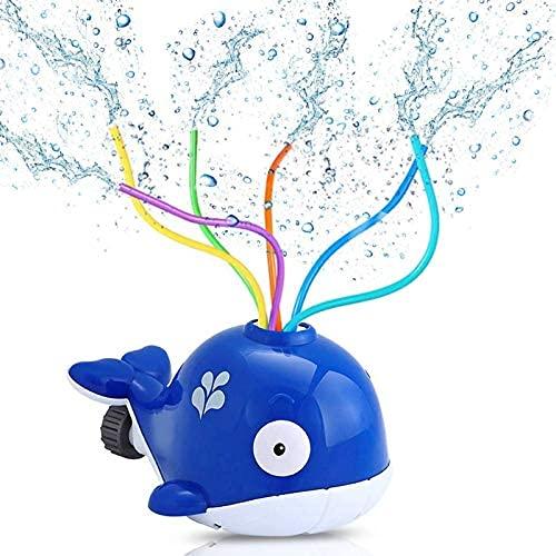 Sunshine smile Sprinkler Spielzeug für Kinder,Hydrant Sprinkler,Wasserspielzeug Sprinkler,Wassersprinkler Garten Kinder,Sprinkler für Outdoor Garten,Wasserspielzeug für Sommer