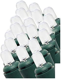 Home Accents Holiday 100 Light Cool White LED Dome String Light for Multi-Use 80% Energy 23 ft Lighted Length