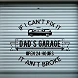 yaofale PVC-Pegatinas de Pared-Dad'S Garage Car Service Etiq