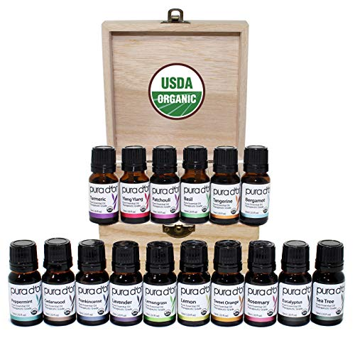 16-piece essential oils set