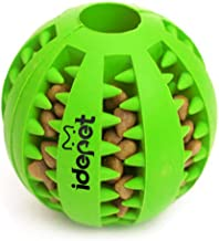 Idepet Dog Toy Ball, Nontoxic Bite Resistant Toy Ball for Pet Dogs Puppy Cat, Dog Pet..