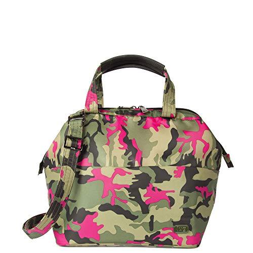 Lug Chomper Top Handle Bag, Camo Orchid