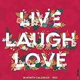 Live, Laugh, Love 2021 Wall Calendar