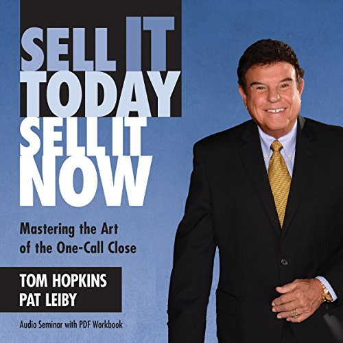 Sell It Today, Sell It Now audiobook cover art