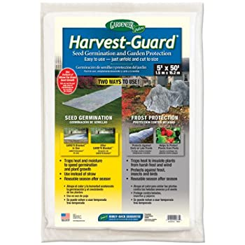 Dalen Products Incorporated DALHG50 Dalen Harvest Guard 5 in.x50 in Lawn Seed Germination Blanket