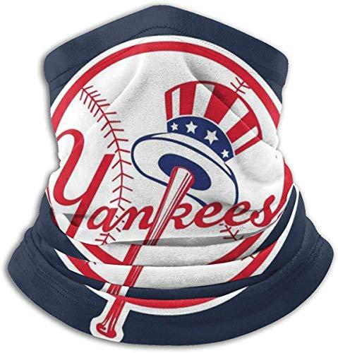 Sunfay Lily New York Baseball Yankee Mikrofaser-Halswärmer Modeschutz gegen Staub, geschützt vor UV-Strahlen der Sonne