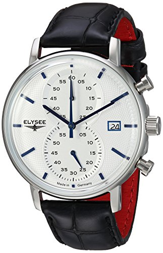 Elysee Minos Herrenuhr mit Chronograph und Datum Made in Germany