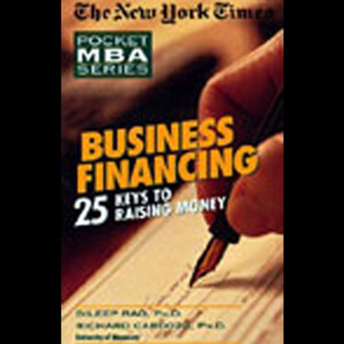 The New York Times Pocket MBA Audiobook By Dileep Rao Ph.D.,                                                                                        Richard Cardozo,                                                                                        Ph.D cover art