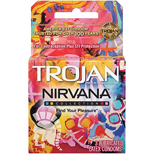 Trojan Condoms Nirvana Collection, 3 Stück