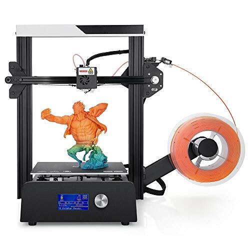 ZIHENGUO 3D Printer Magic Printer, Full Metal DIY KIT Grande Taille de Construction 220 * 220 * 250mm 3D Ducker Reprendre Power Off