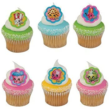 Shopkins I Love Shopkins Cupcake Rings - 24 c | Shopkin.Toys - Image 1