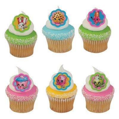Shopkins I Love Shopkins Cupcake Rings - 24 ct