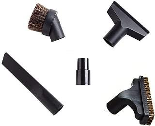 EZ SPARES 5PCS Universal Replacement 32mm & 35mm Vacuum Cleaner Accessories Horsehair Brush Kit for Hoover, Eureka, Royal, Dirt Devil,Rainbow Kenmore,Electrolux, Panasonic Shop Vac