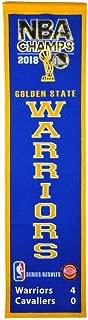 Winning Streak Golden State Warriors 2018 NBA Champions Heritage Banner