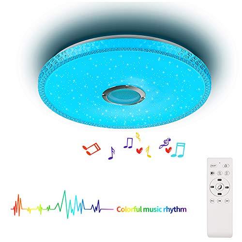 Bluetooth plafondlamp LED muziek plafondlamp met afstandsbediening