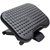 HUANUO Adjustable Under Desk Footrest - Ergonomic Foot Rest with...