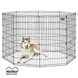 MidWest Foldable Metal Exercise Pen / Pet Playpen, 24'H x 48'W