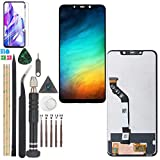 Display for Xiaomi Pocophone F1 LCD Touch Screen Digitizer Assembly Replacement with Tools(Black)