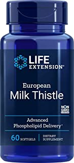 Sponsored Ad - Life Extension European Milk Thistle-Advanced Phospholipid Delivery Softgels, 60 Count