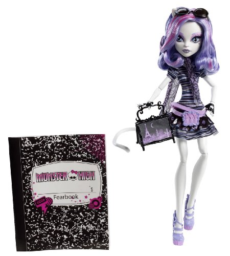 Monster High Travel Catrine DeMew Scaris City of Frights Exclusive