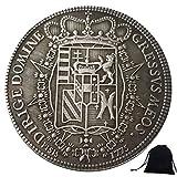 DDTing 1775 Monedas históricas de Italia talladas a mano - Monedas de Italia - Moneda antigua conmemorativa sin circular + bolsa KaiKBax - Es hecho a mano moneda goodService