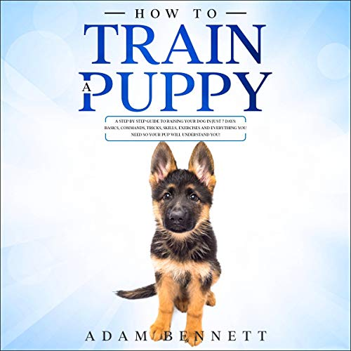 How to Train a Puppy audiobook cover art