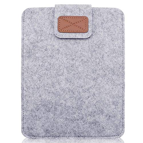 GHC PAD Cases & Covers For iPad Air MI-NI 10 inch, Woolen Felt Sleeve Bag Pouch Case Tablet PC Light Weight Laptop Sleeve Bag For 10' Lenovo Tab 3 4 E7 (Color : Light Gray)