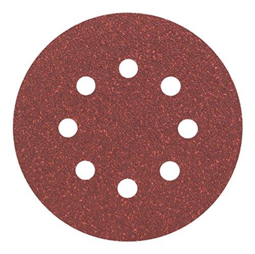Bosch Professional Schleifblatt für Exzenterschleifer Holz und Farbe (5 Stück, Ø 125 mm, Körnung 60, C430)