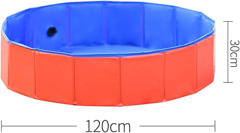 Dog bath tub collapsible tub pet dog medicine tub tub Teddy golden Retriever large dog swimming pool  120x30cm