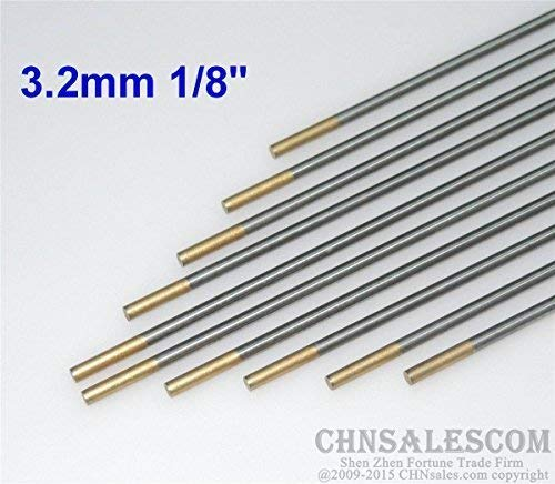 "5 pcs WP 0.04/""  1//16/""  4//51/""  3//32/"" 1//8/""  Pure Tungsten Electrode Green"