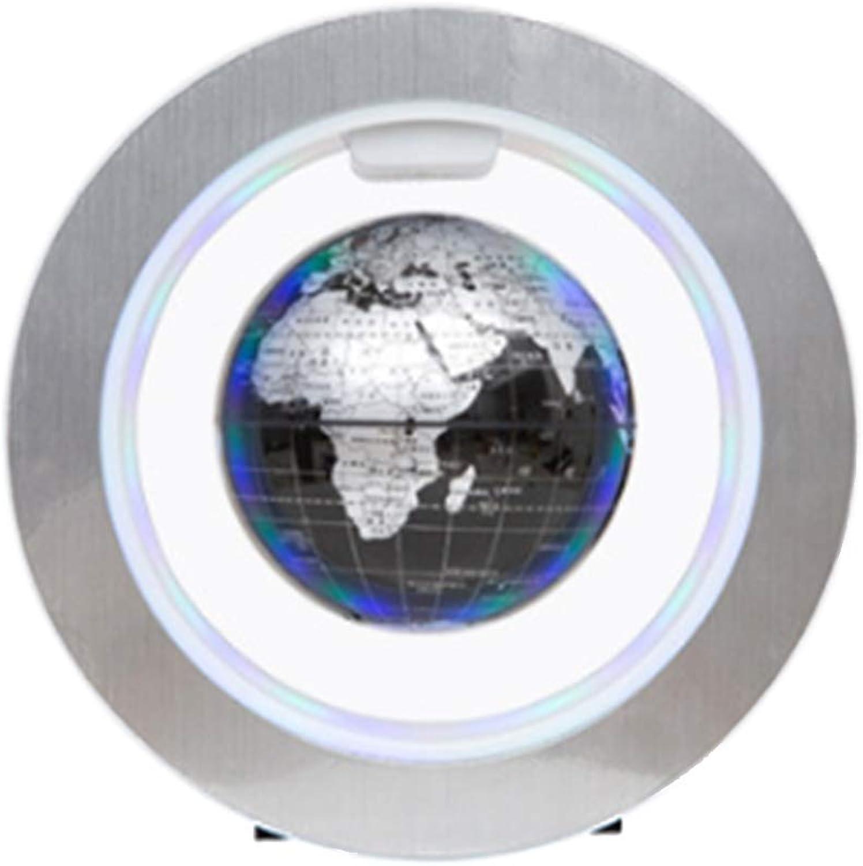 gran selección y entrega rápida GH DQY- 6 Pulgadas Flotante Globo de luz LED suspensión suspensión suspensión magnética Flotante Mapa del Mundo Global decoración de Escritorio  más orden