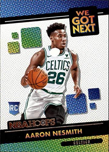 2020-21 NBA Hoops We Got Next #14 Aaron Nesmith Boston Celtics Official Panini Basketball Trading Card