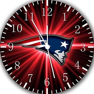 Borderless Patriots Frameless Wall Clock E98 Nice for Decor Or Gifts