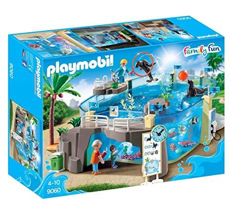 PLAYMOBIL Playmobil-9060 Family Fun Aquarium, Mehrfarbig (9060)