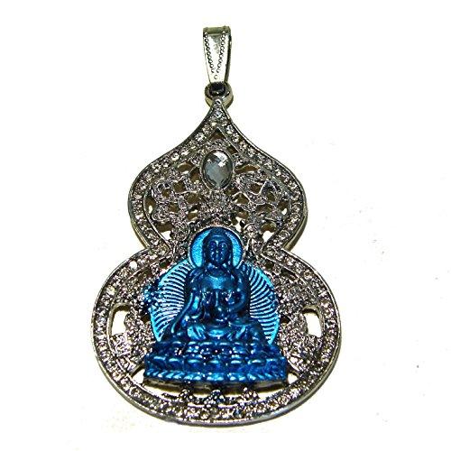 Medicine Buddha Feng Shui Wu Lou Pendant