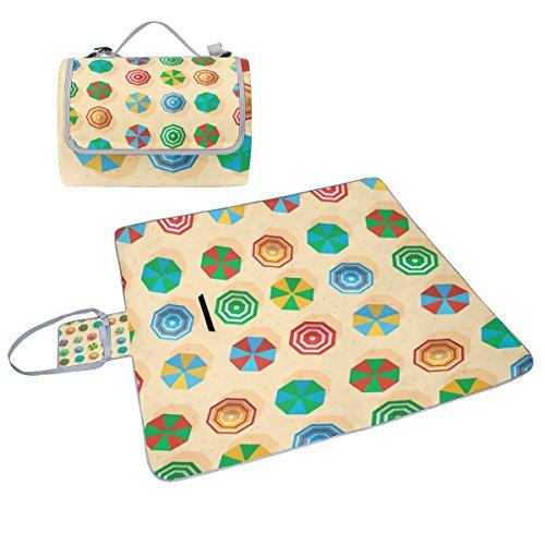 COOSUN Sonnenschirm mit Box Picknick-Decke mit Matte Schimmel resistent und wasserdicht Camping-Matte für rving, Picknickdecke, Strand, Wandern, Reisen und Ausflüge