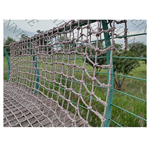 Cargo Climbing Net Outdoor, Rope Netting Climbing Net Climb Wall for Kids Playground Rock Swingset Tree Playset Ladder Playsets Swing Sets Nylon Mesh Heavy Duty Large Child Adult, for Adults Child Pla