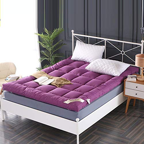 HY&PPJQ - Colchón de Tatami, 10 cm de Grosor, para salón, para el Suelo, para habitación Individual, con Arrugas, Grueso, cálido, para Interior y Exterior, algodón, D, 120x200cm(47x79inch)