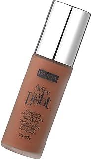 Pupa Milano Active Light Compact Face Foundation Cream - 080 Dark Brown