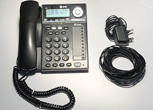 At&T - 993 Two-Line Corded Speakerphone With Caller Id Product Category: Audio Visual Equipment/Telephones