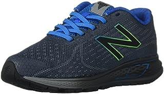 New Balance Boys' Vazee Rush Running Shoe Grey/Blue 5 M US Big Kid [並行輸入品]