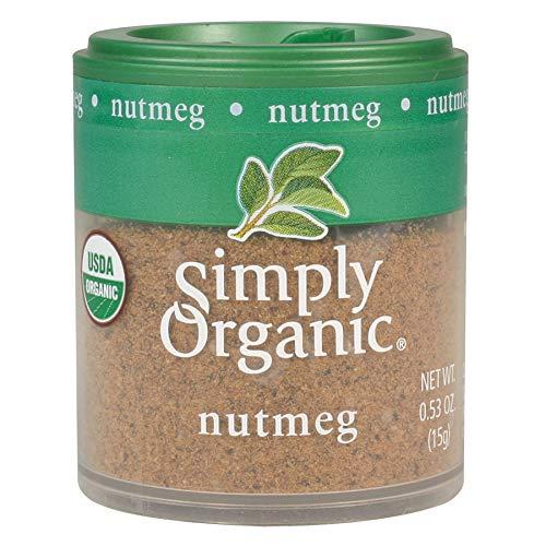 Product Image 1: Simply Organic Ground Nutmeg, Certified Organic | 0.53 oz | Myristica fragrans Houtt.