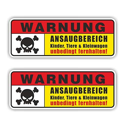 folien-zentrum 2X Ansaugbereich Aufkleber Shocker Hand Auto JDM Tuning OEM Dub Decal Stickerbomb Bombing Sticker Illest Dapper Fun Oldschool