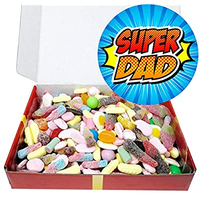 superdad! special gift box packed full of dad's favourite mouthwatering classic retro pick and mix style sweetshop penny sweets. Superdad! Special Gift Box Packed Full of Dad's Favourite Mouthwatering Classic Retro Pick and Mix Style Sweetshop Penny… 51Yz7uc1uaL