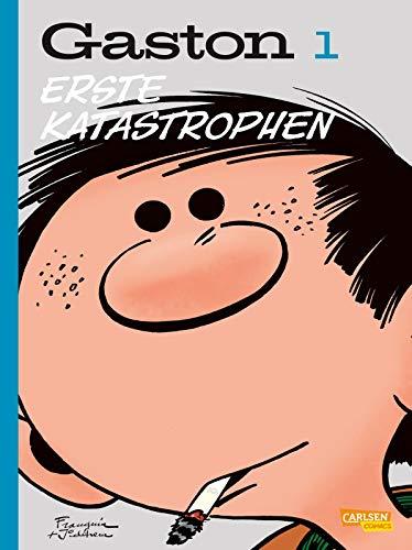 Gaston Neuedition 1: Erste Katastrophen: Der Comic-Klassiker für chaotischen Humor (1)