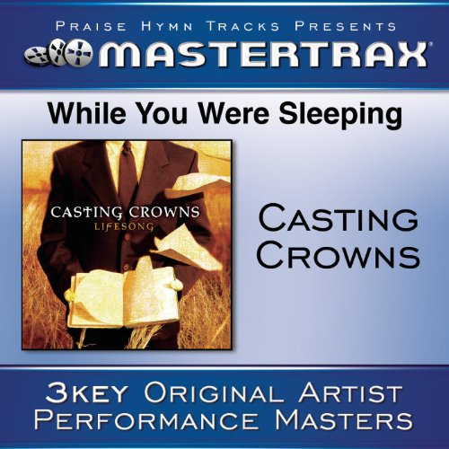 While You Were Sleeping (Medium Without Background Vocals) (Performance Track)