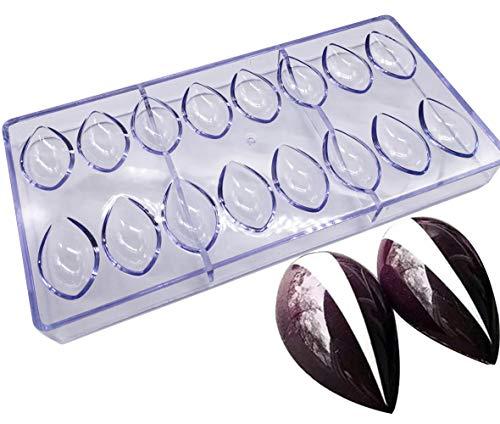 Formen für Süßigkeiten, Polycarbonat, transparent, 21 Teile Drop